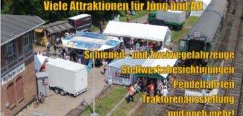 Bahnhofsfest in Walheim