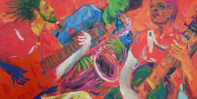 Rhythmus der Farben