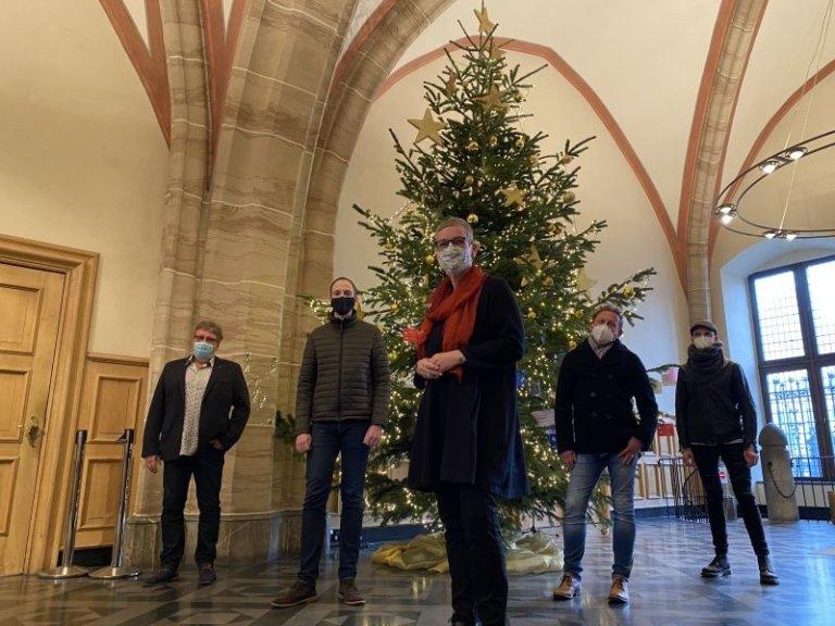 Wunschzettel Weihnachtsbaum 2020
