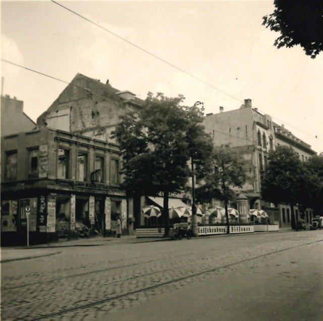Theaterstraße und Theaterplatz