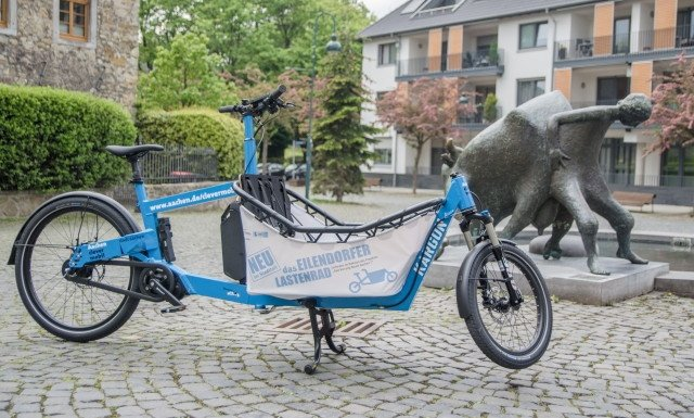 Lastenrad Lastenfahrrad Eilendorf
