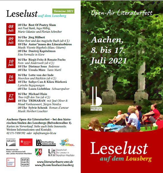 Leselust Aachen 2021