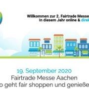 Fairtrade Messe Aachen 2020