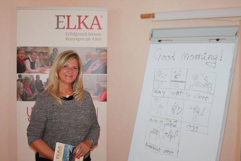 Kurse für Senioren: Monika Mostaf von ELKA Lernen