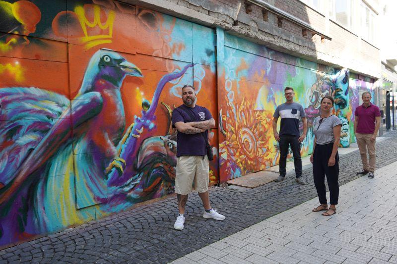 Streetart Aachen Dahmengraben