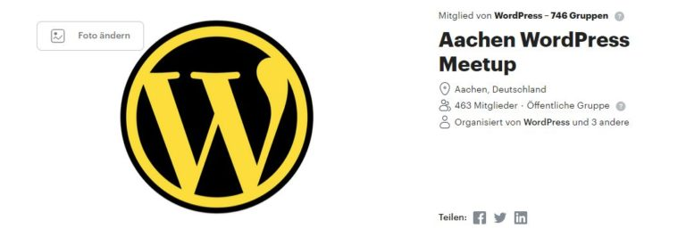 WordPress Meetup Aachen