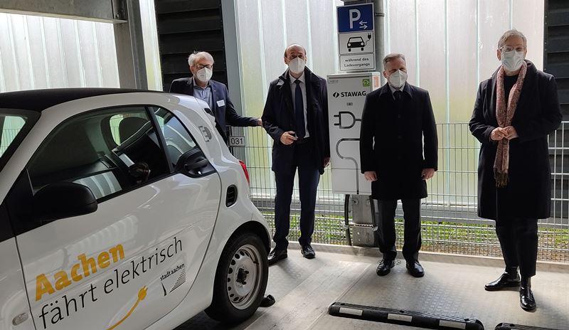 Aufbau von Ladeinfrastruktur in Aachen nimmt Fahrt auf
