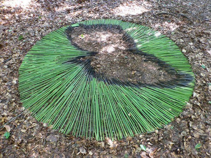 Michael Zobel: Kunst in und mit der Natur