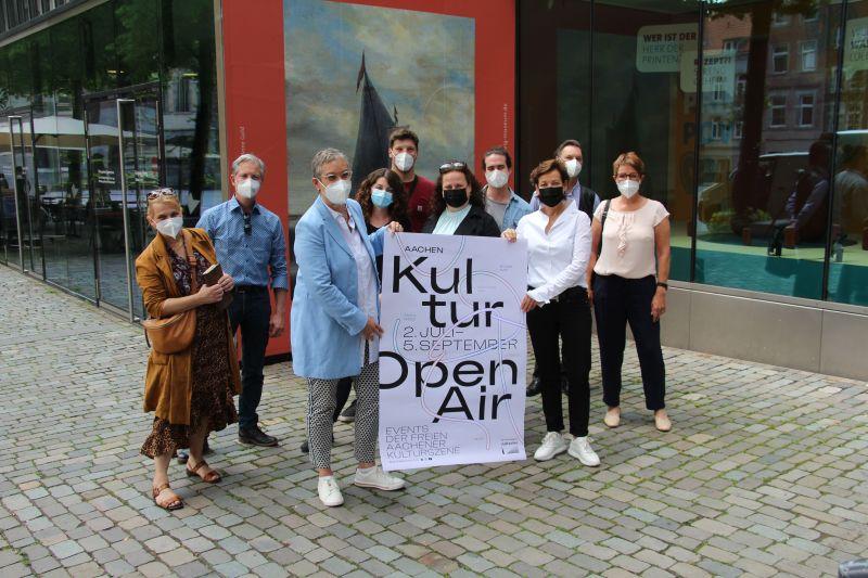 """Aachen macht """"Kultur Open Air"""""""