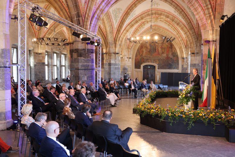"""Eröffnung der Ausstellung """"Dürer war hier. Eine Reise wird Legende"""" im Aachener Rathaus"""