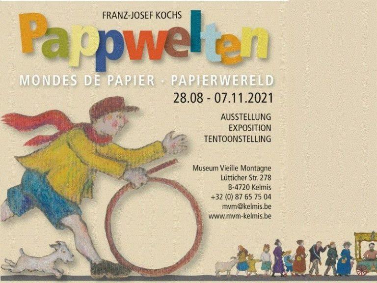 Pappwelten. Eine Kunstausstellung von Franz-Josef Kochs