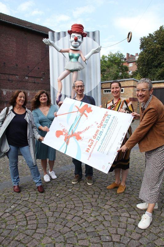 """Tanzfestival """"Auf dem Sprung"""" in der Städteregion Aachen"""