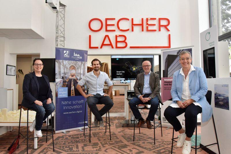 digitalHUB und Stadt Aachen launchen smart.aachen-Plattform