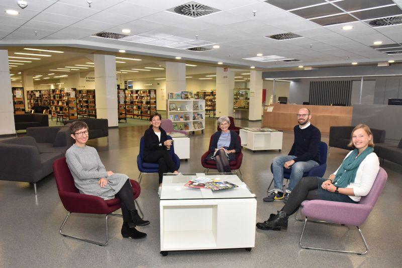 Stadtbibliothek Aachen: Eröffnungsfeier nach Umbau